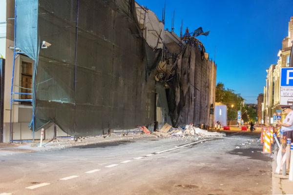 Рахматуллин: Обрушение фасада «дома Болконского» - знак свыше