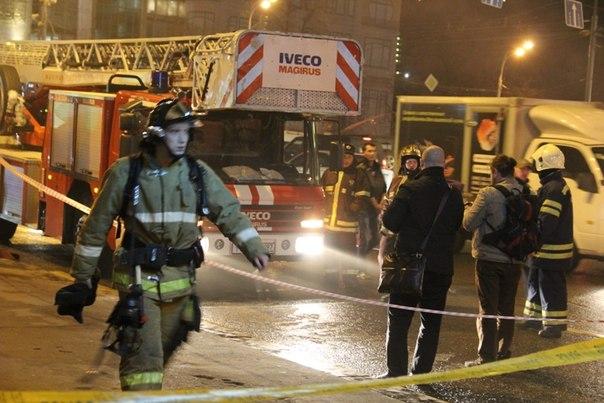 Пожар в метро Тверская. Возможно, теракт?