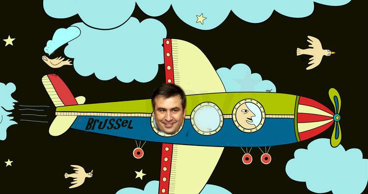 Почему Саакашвили улетел из Грузии?