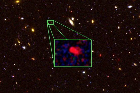 Обнаружена самая далекая от Земли галактика