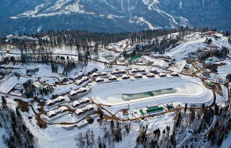 Олимпийские объекты Сочи 2014 – Горный кластер.
