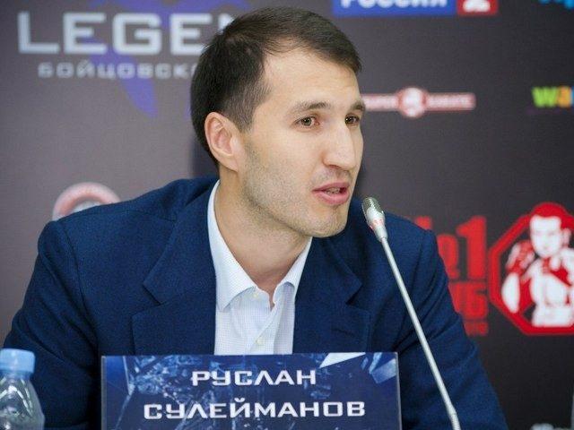 Руслан Сулейманов: В России пока нет спортсмена, способного повторить успех Федора Емельяненко