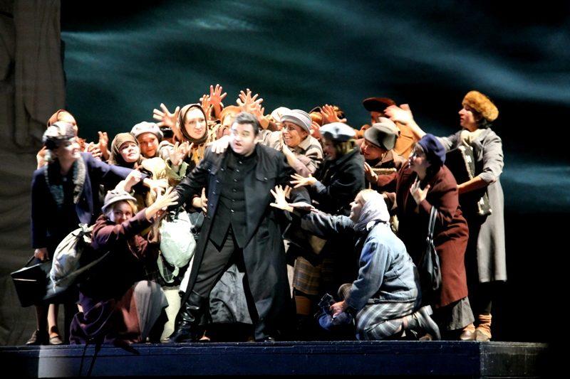 «Пиковая дама» в театре «Новая Опера» в Москве