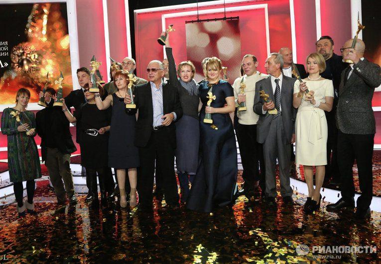 Объявлен список номинантов на премию «Золотой Орел»