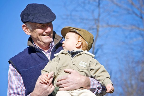 была Регистрация ребенка у дедушки пусть поступают