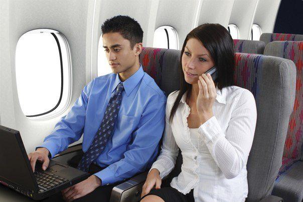 В США разрешили использовать электронные гаджеты в самолетах
