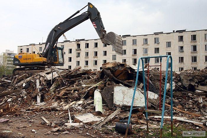 Москва продолжит избавляться от ветхих пятиэтажек