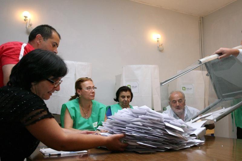 Оглашены официальные результаты выборов в Грузии