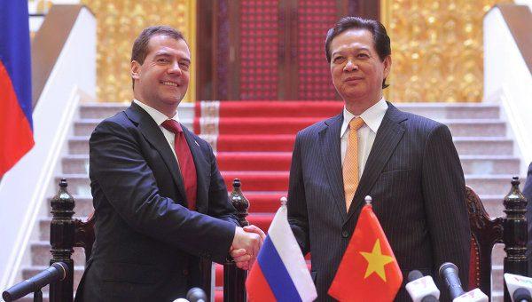 Россия и Вьетнам создают зону свободной торговли