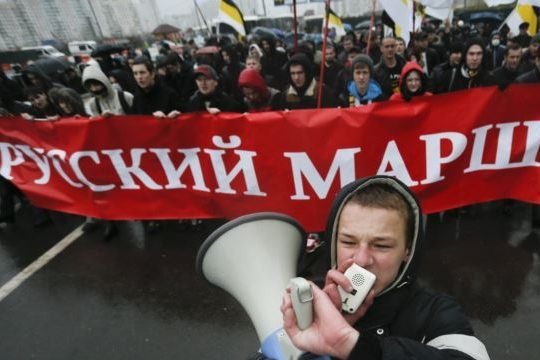 В День народного единства националисты «промаршировали» по Москве