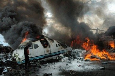 В аэропорту Казани при посадке разбился Boeing-737