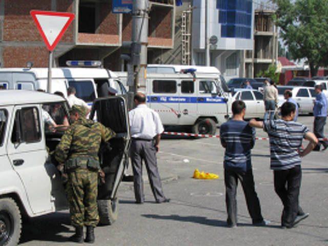 Полицейского расстреляли возле собственного дома в Дагестане
