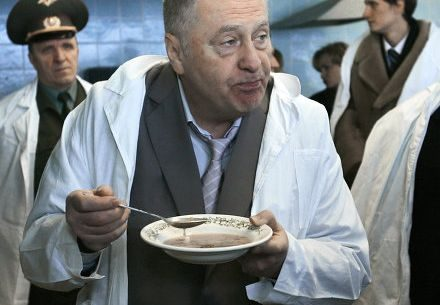 Жириновский переводит ЛДПР на вегетарианскую диету