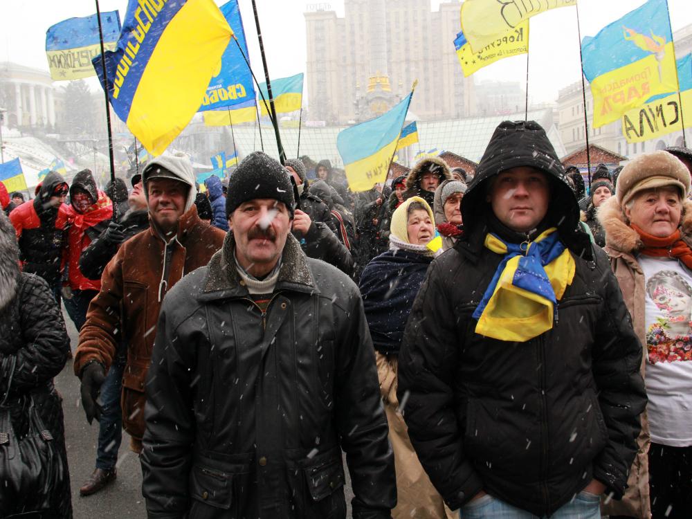 «Киевлян лишили новогодних праздников»