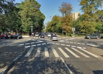В столице появятся диагональные зебры