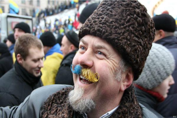 Украина: «Евромайдан» стал торговой маркой