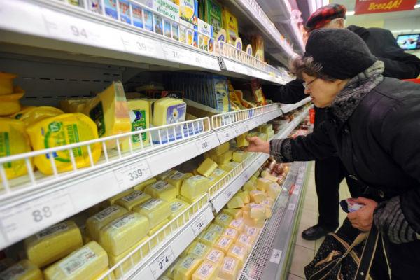 В Россию вернулись молочные продукты из Литвы