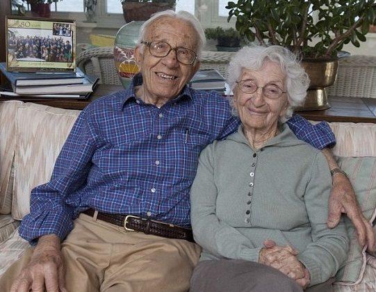 Любовь по-американски: Джон и Энн Бетар живут в браке уже 81 год.