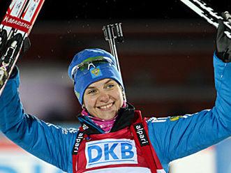 Ирина Старых стала третьей в спринте по биатлону на втором этапе Кубка Мира