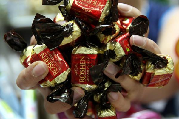 Шоколад фабрики «Рошен» возвращается в Россию