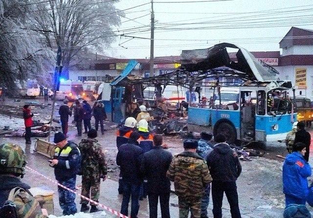 Очередной теракт в Волгограде. Взорван троллейбус. Видео