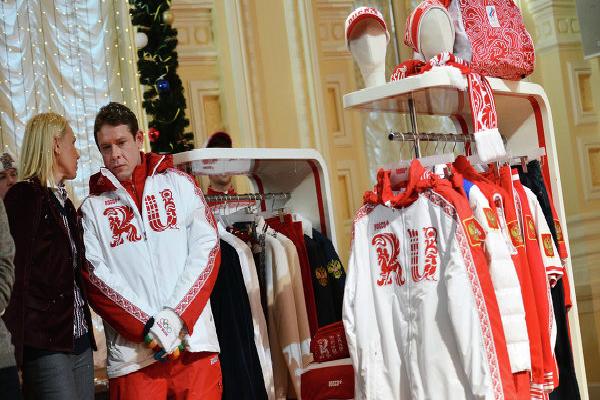 В столице презентовали форму Олимпийской сборной России