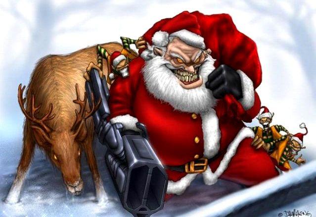 Албанские Санта-Клаусы ограбили два ювелирных магазина