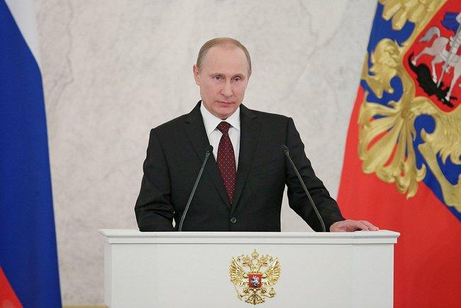 Президент Путин обратился с Посланием Федеральному Собранию