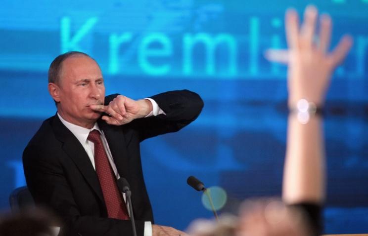 Песков: в аккредитации на пресс-конференцию Президента отказано имеющим судимость и психические заболевания