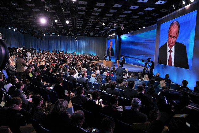 Пресс-конференция Путина: амнистия, дело Greenpeace, казаки, ручное управление, отношения с Грузией