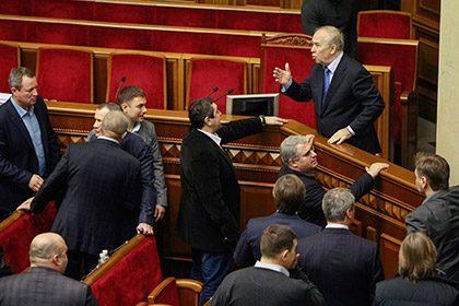 Украина: Верховная Рада требует отставки премьер-министра