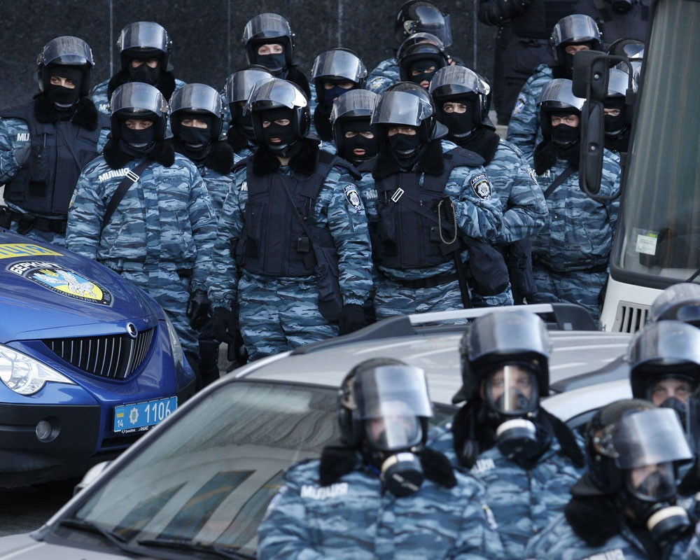 Киевский «Тигр» прорвал кордон
