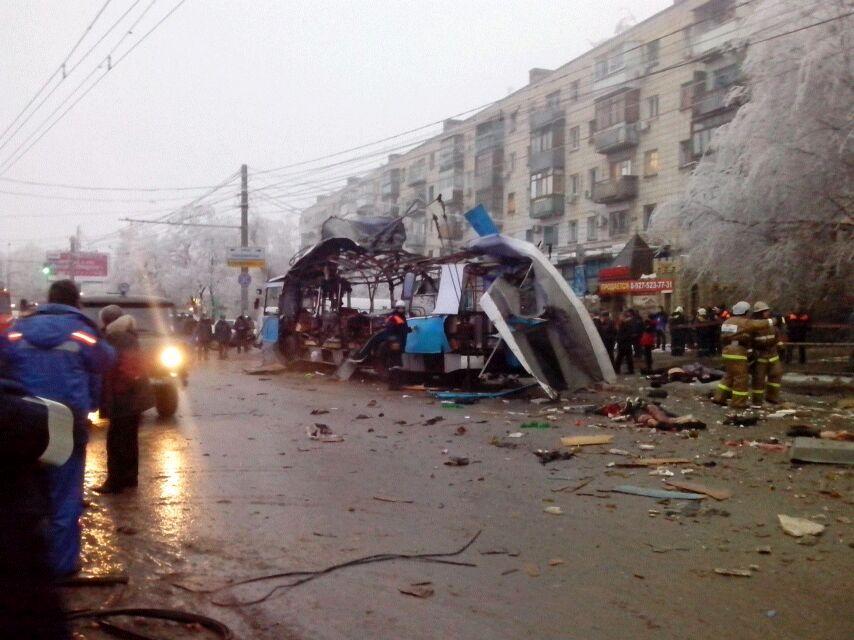 Число погибших в троллейбусе в Волгограде возросло до 15 человек