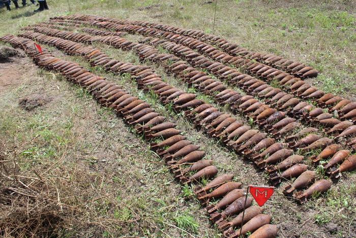 Более 500 боеприпасов обнаружено под Ростовом-на-Дону