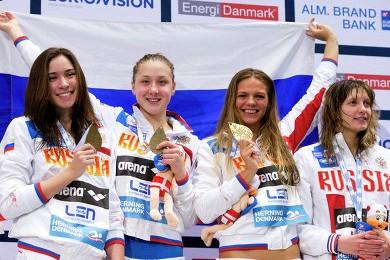 Российские спортсмены – абсолютные победители Чемпионата Европы 2013 по плаванию