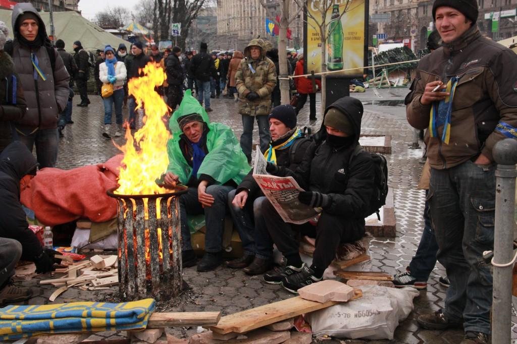 Украина: От политического кризиса до баррикад?