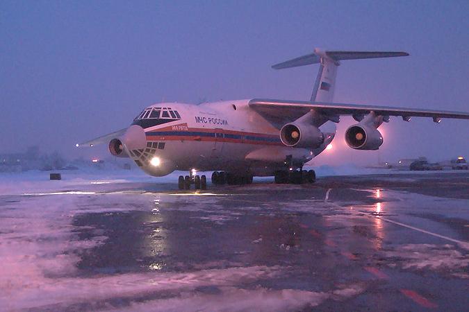 Шесть раненых отправят в Москву на борту самолета МЧС