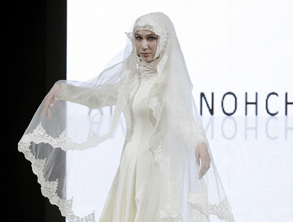 Показ исламской одежды прошел в Грозном