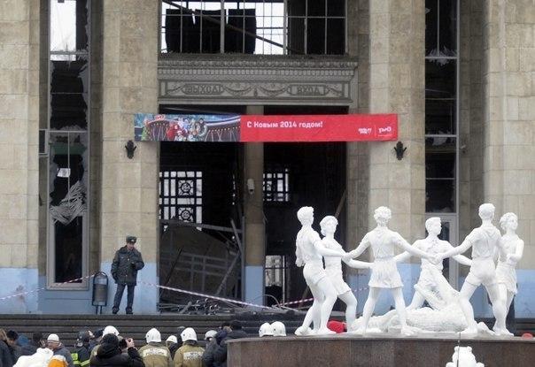 Волгоградский полицейский пытался закрыть путь шахидке, взорвавшей вокзал