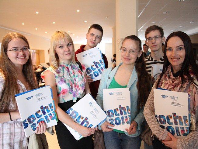Волонтерская команда Олимпийских Игр-2014 готова приступить к работе
