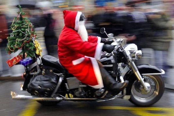 Деды Морозы устроят в Сочи мотопарад