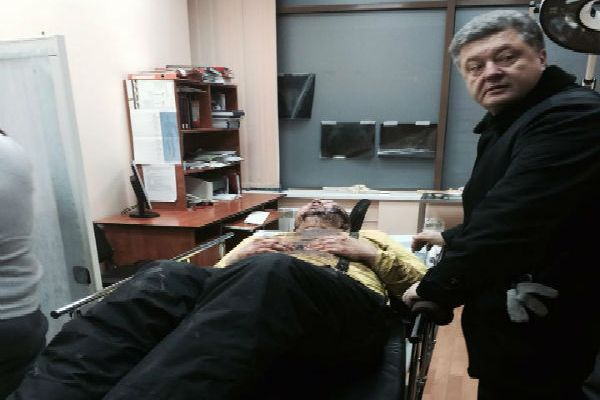 Врачи борются за жизнь активиста Автомайдана