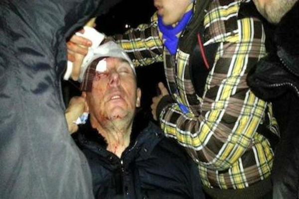 Украина: спецназ «Беркута» избил экс-министра МВД