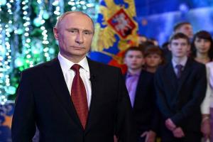 Президент России Владимир Путин записал два обращения и встретил  Новый год в Хабаровске