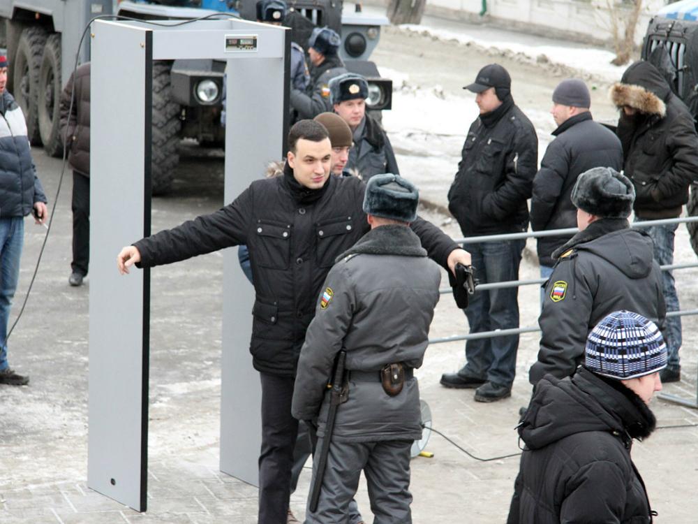 Не всем гулявшим в Москве удалось встретить Новый год на Красной площади