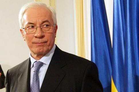 Премьер Украины Азаров подал в отставку