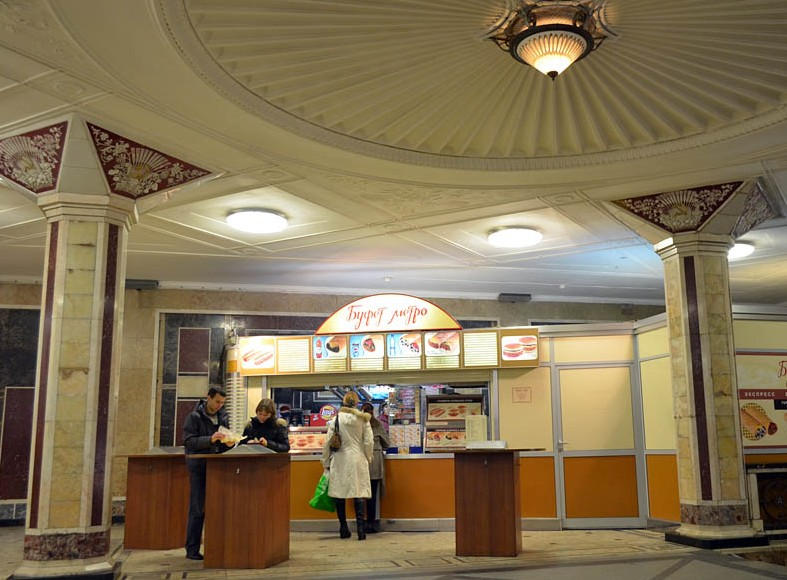 Буфетов и кафе в метро Москвы не будет