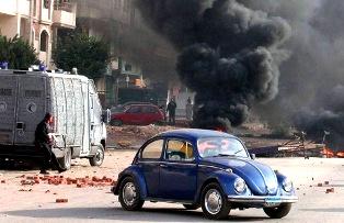 Число взрывов в Каире достигло пяти