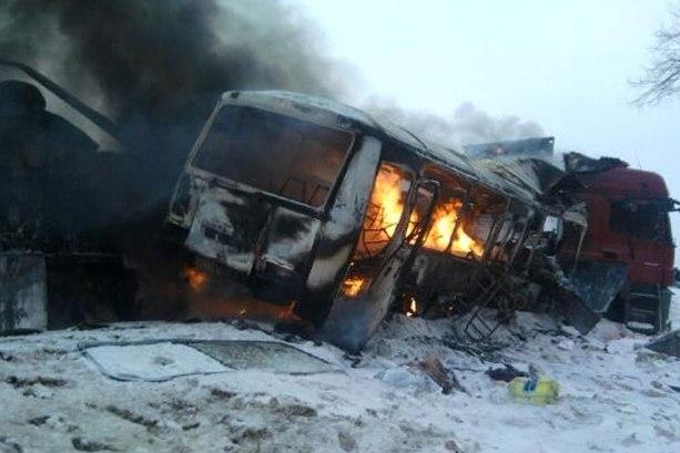 Авария под Пензой лишила жизни 6 человек