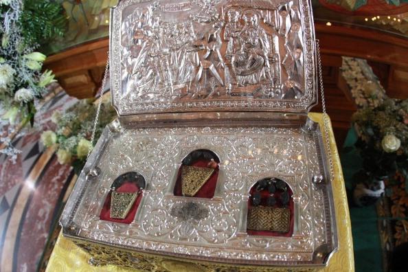 Доступ к Дарам волхвов открылся в петербургском Новодевичьем монастыре
